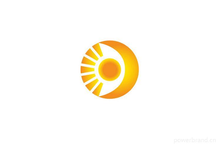 海浪托起日月 手绘